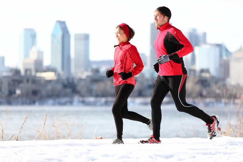 Here's How to Make Cold Weather Running Enjoyable
